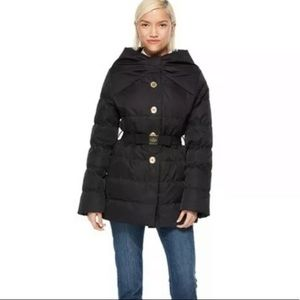Kate Spade Becky Puffer Coat Bow NEW